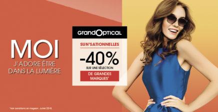-40% sur une sélection de grandes marques