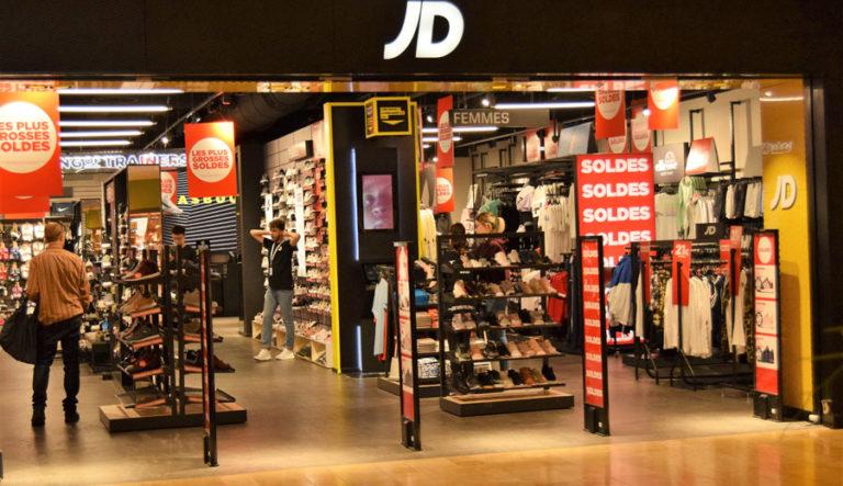 JD Sport Place des Halles Centre Commercial Strasbourg