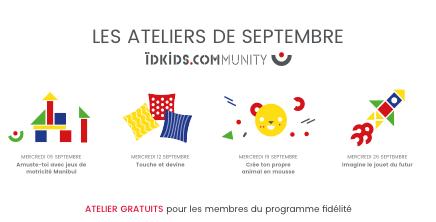 ÏDKIDS : ateliers de Septembre