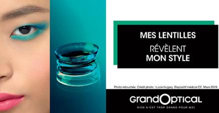 Offre contactologie chez GrandOptical