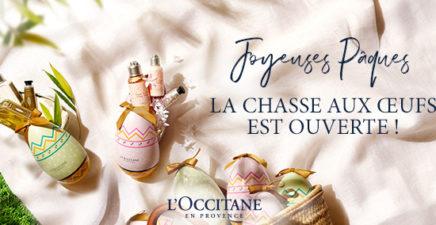 Pâques chez l'Occitane en Provence