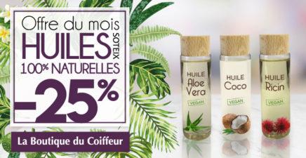 -25% sur Les Huiles SOTEIX chez La Boutique du Coiffeur