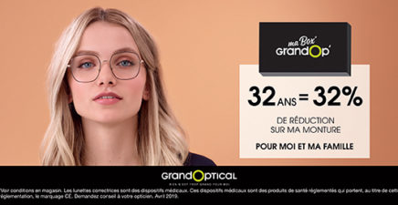Box GrandOp' chez GrandOptical