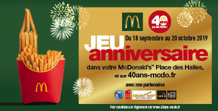40 ans de McDonald's !