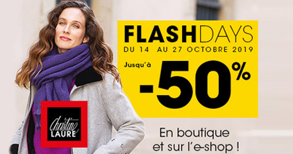 FLASH DAYS Christine Laure