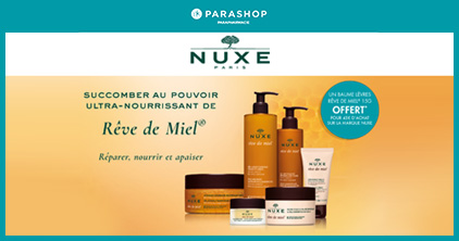 Parashop X Nuxe