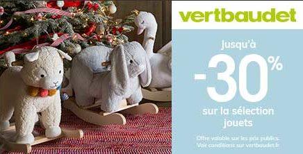 Opération jouet chez Vertbaudet !