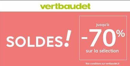 Nouvelle démarque chez Vertbaudet !