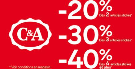 Jusqu'au 14 juillet, bénéficiez de réductions jusqu'à -50% !