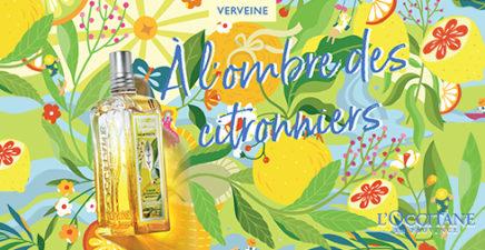 Edition limitée Verveine Agrumes chez L'Occitane en Provence