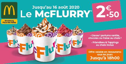 McFlurry à 2.50€ !