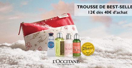 Trousse de best-sellers chez L'Occitane en Provence