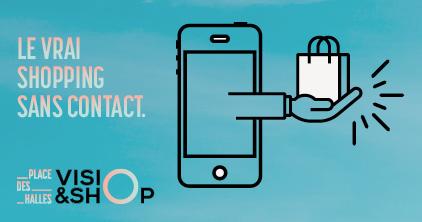 Découvrez notre nouveau service Visio & Shop !