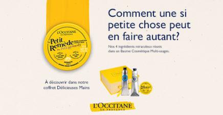 Coffret Délicieuses Mains chez l'Occitane en Provence