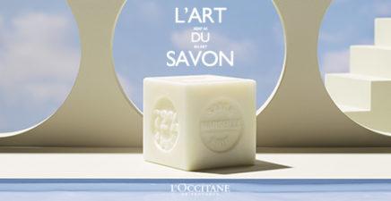 L'art du savon chez l'Occitane en Provence