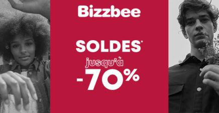 Bizzbee : Jusqu'à -70%