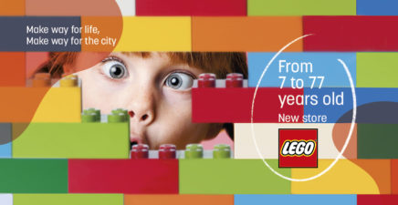 Lego opening on May 19th