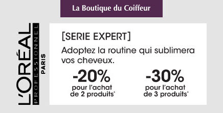 La boutique du coiffeur : See conditions in stores