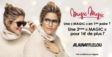 MAGIC MAGIC : Votre 2ème « MAGIC » pour 1€ de plus