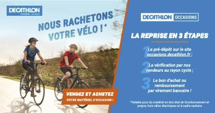 Décathlon rachète votre ancien vélo !