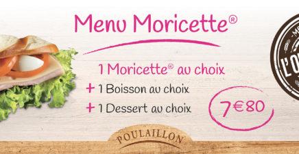 Menu Moricette® chez Poulaillon